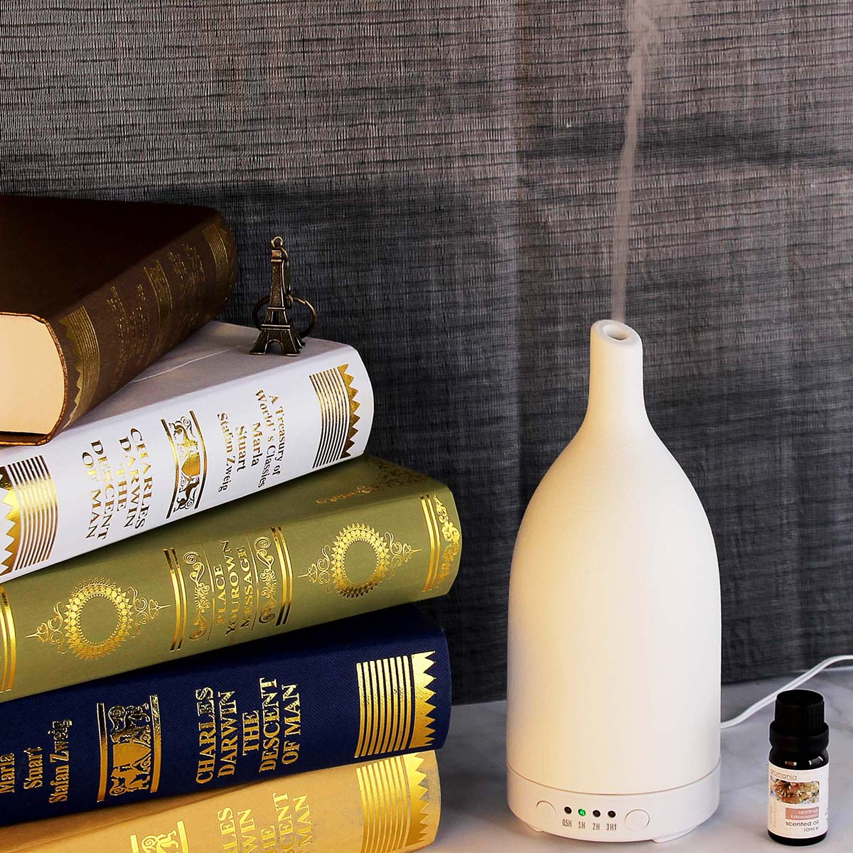 hidly aroma diffuser in reading room