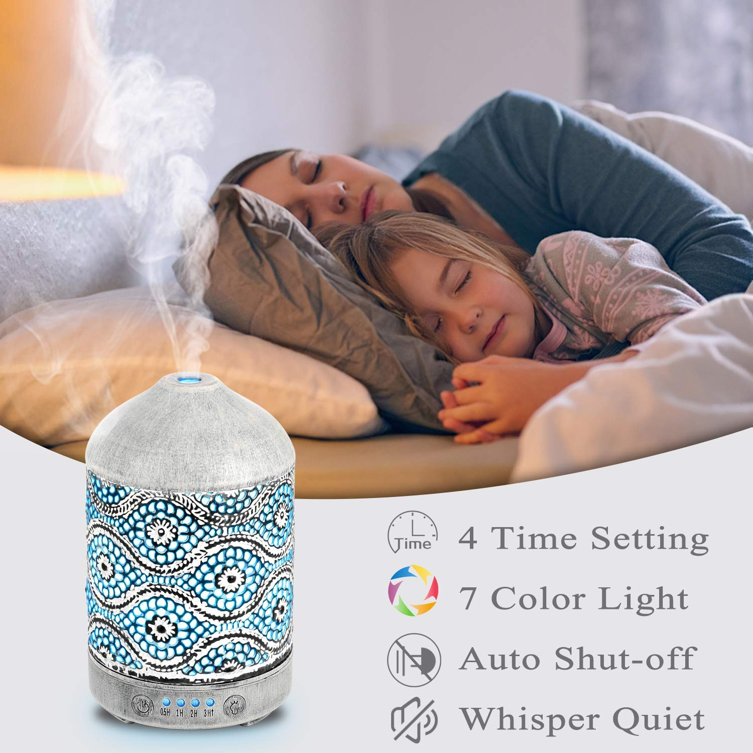 Metal Essential Oil Diffusers - H068