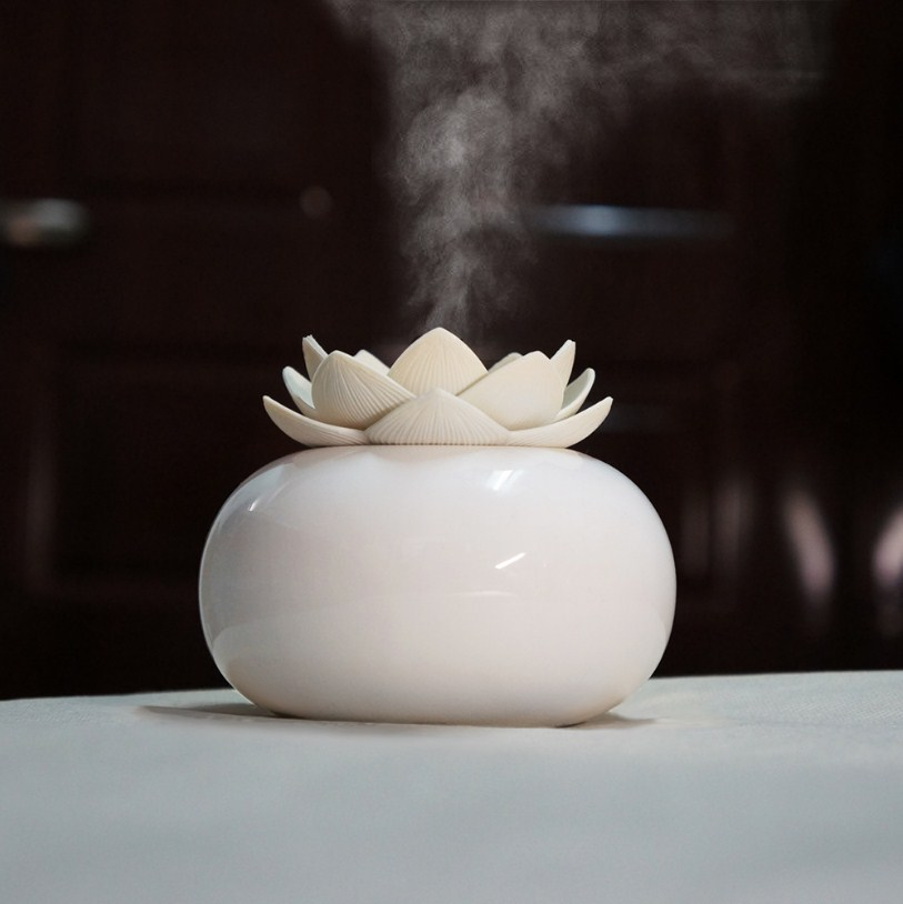 Lotus Ceramic Humidifier Diffuser - HSJ78
