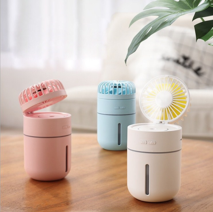 Portable Mini Fun Humidifier Diffuser - HSJ81 title=